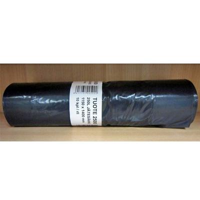 Musta jätesäkki, 250 L