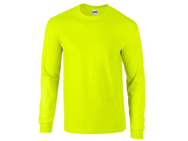 Pitkähihainen Miesten T-paita, Gildan