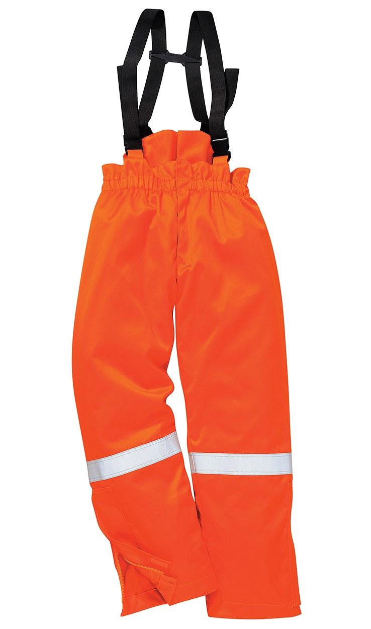 Portwest FR58 palosuojattu talvihousut, oranssi