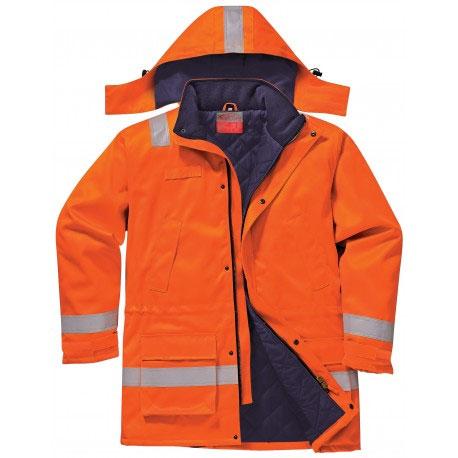 Portwest FR59 palosuojattu talvitakki, oranssi